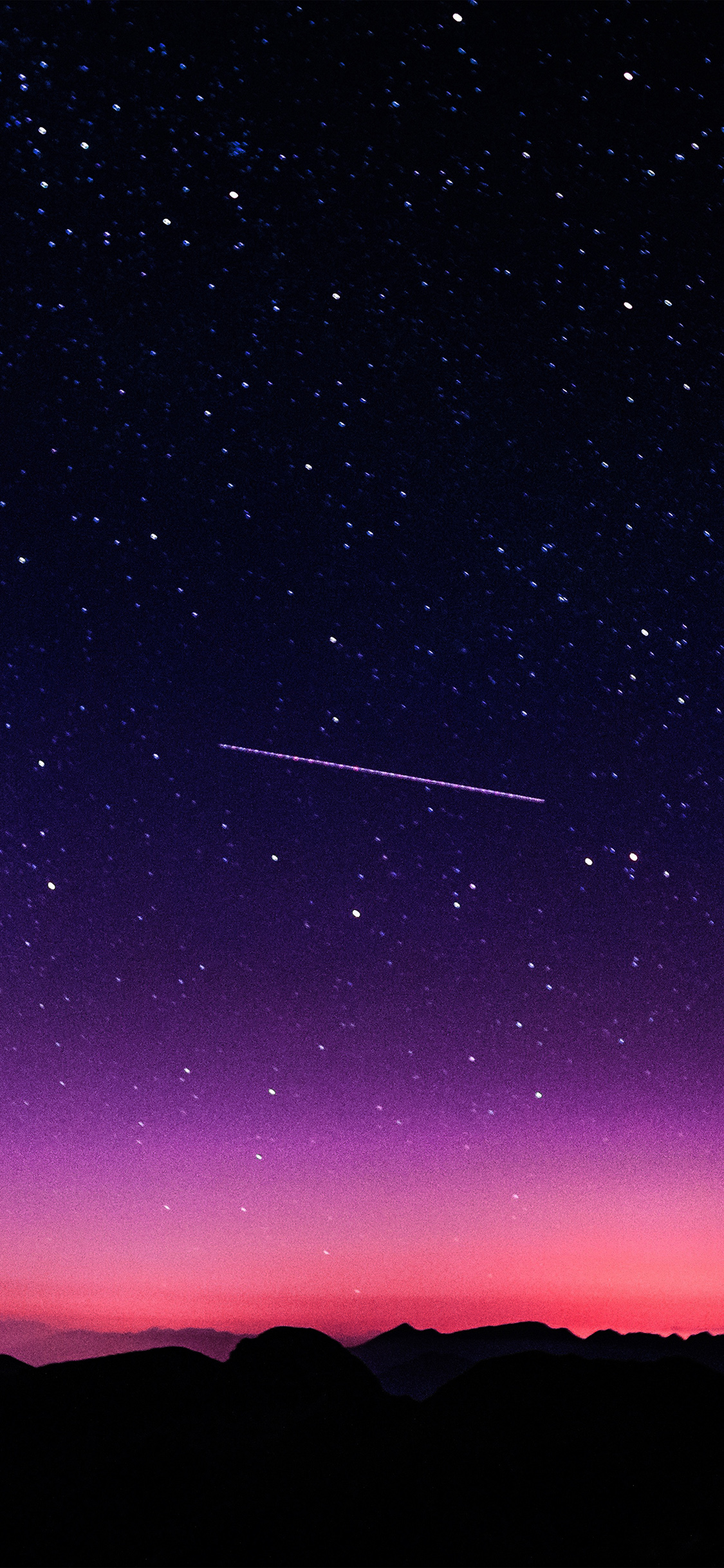 iPhoneXpaperscom iPhone X wallpaper ne64 star galaxy night 1125x2436