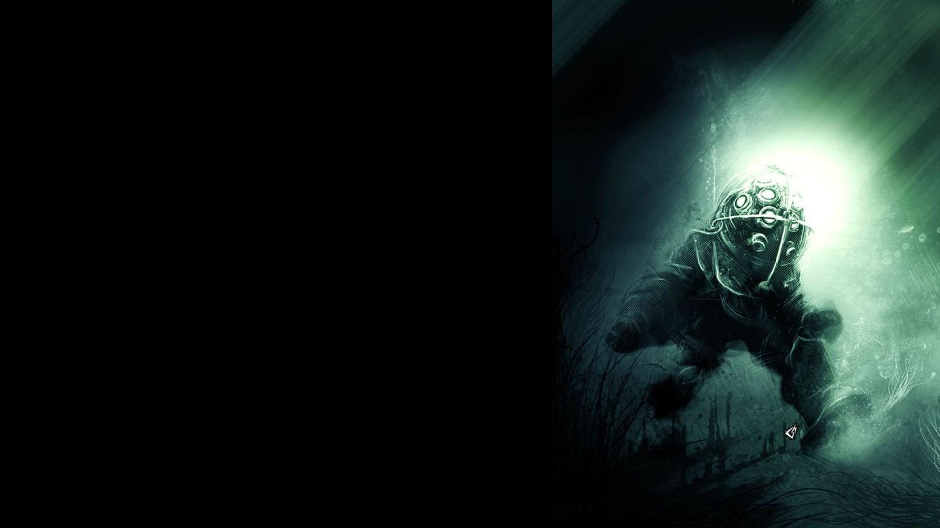 Bioshock rapture gavade 2k underwater fan art wallpaper 68096 1920x1080