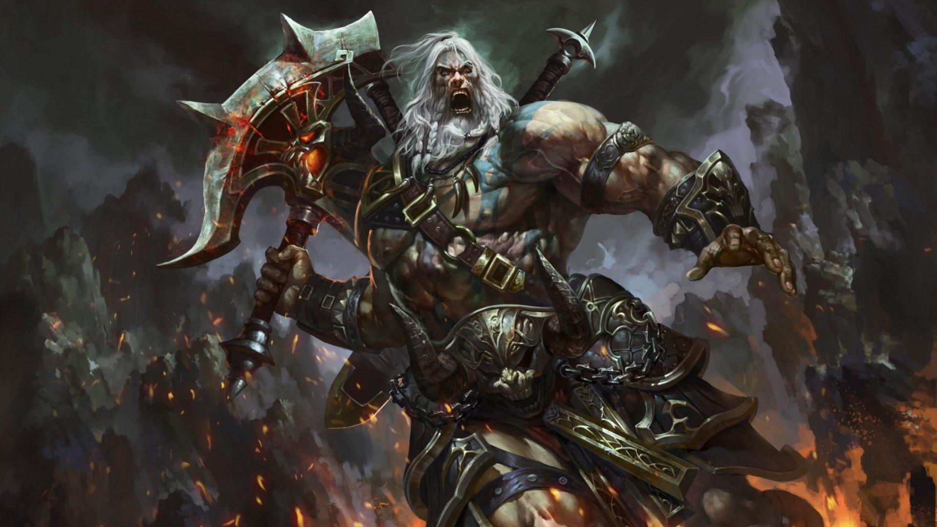 PK97 High Definition Barbarian Pictures Mobile PC 1920x1080