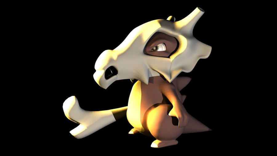 Cubone Wallpaper Cubone 3d by sonsofpride 900x506