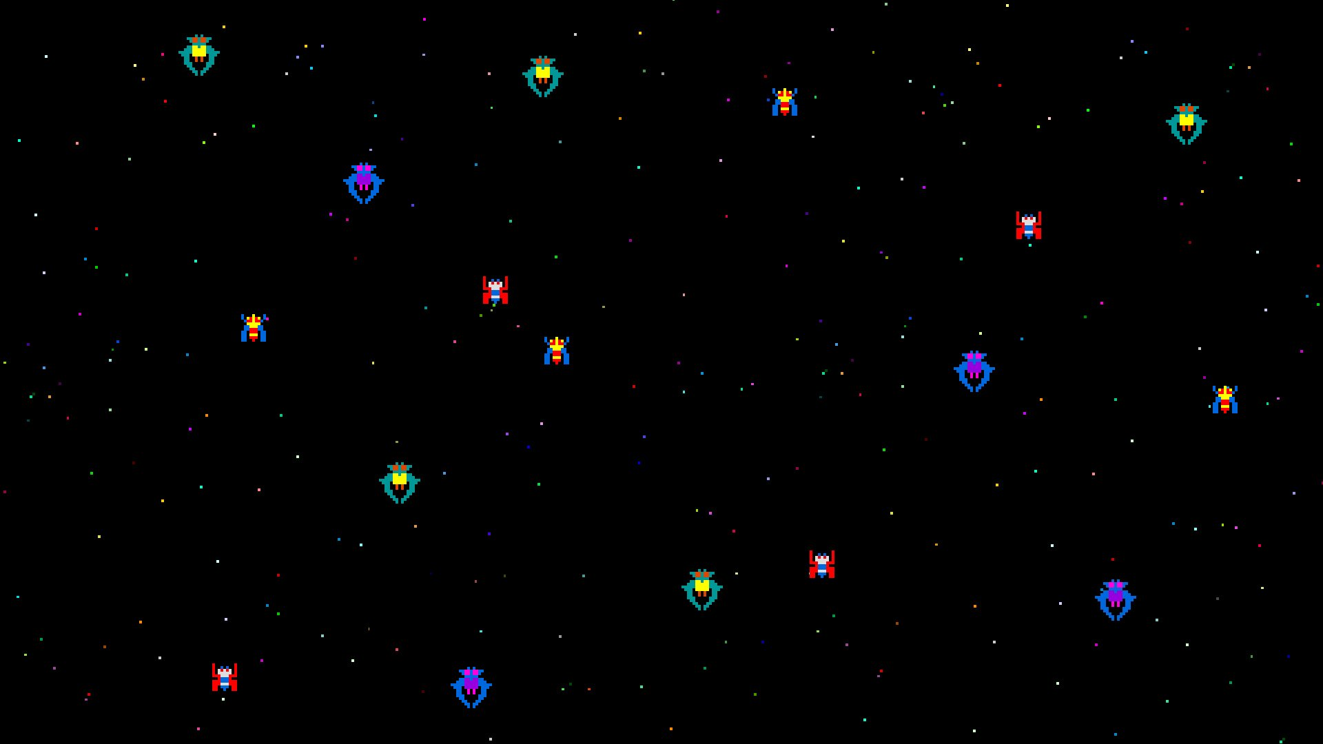Galaga HD Wallpaper 13   1920 X 1080 stmednet 1920x1080