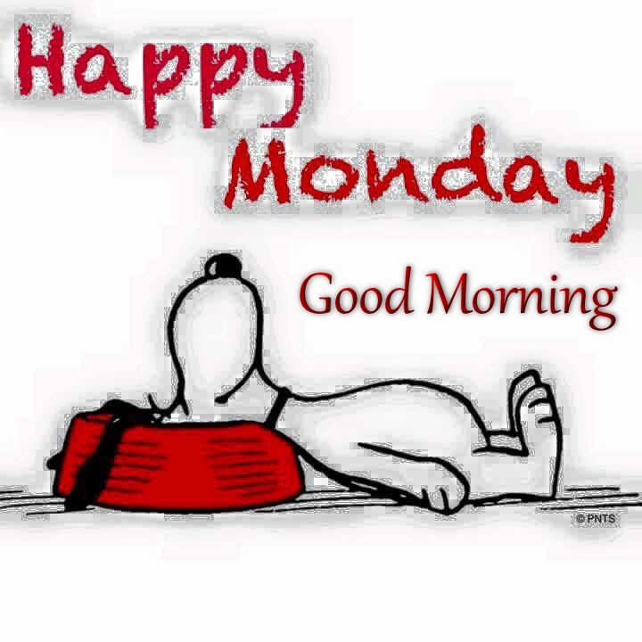Happy Monday Good Morning Snoopy Quote Pictures Photos and 720x720
