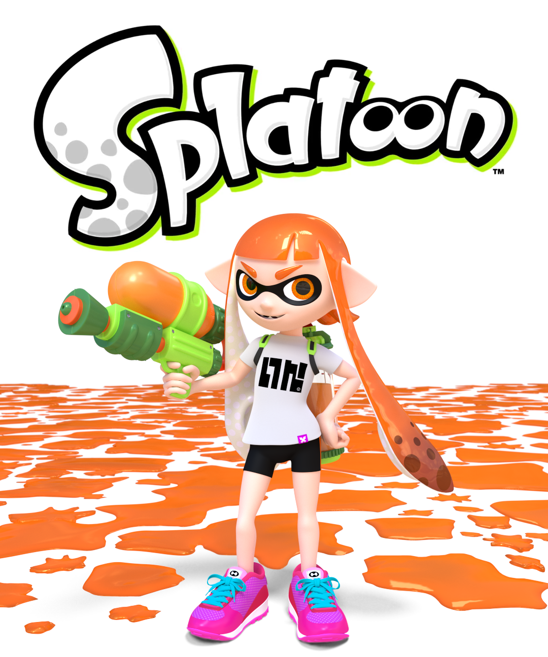 49 Inkling Splatoon Squid Wallpaper 3d On Wallpapersafari