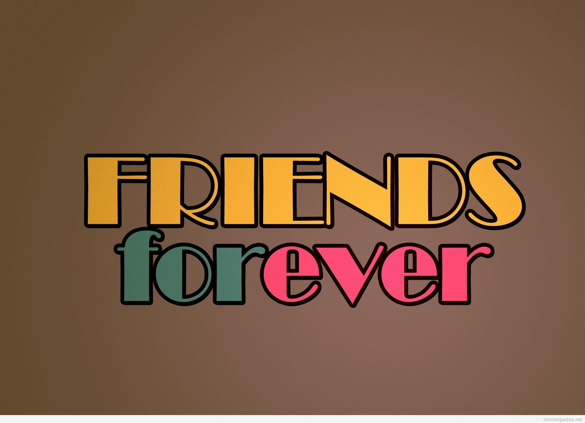 Best Friends Forever Wallpapers 1992x1441