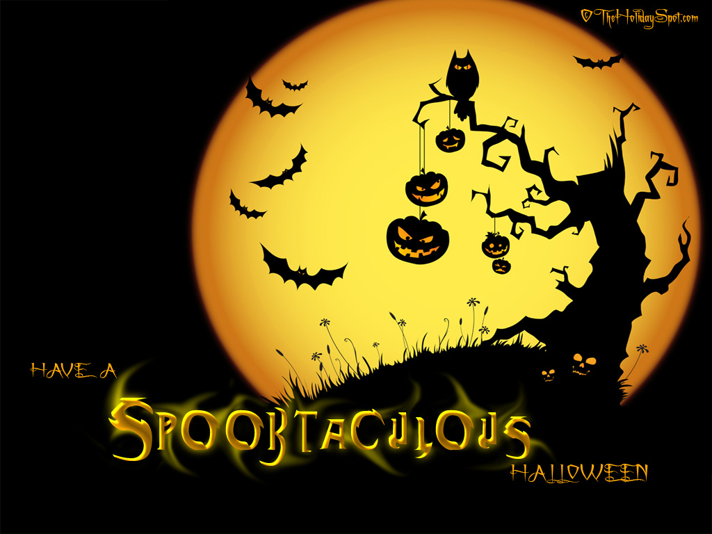 Games Wallpapers Happy Halloween Wallpapers   Halloween 1024x768
