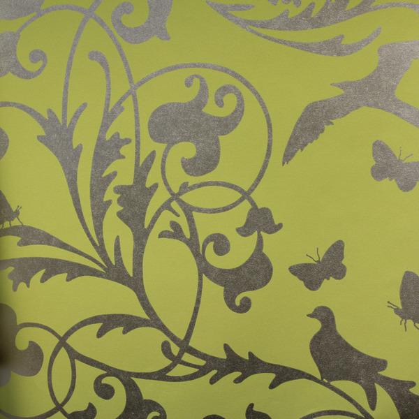 Eijffinger Wallpaper   Gracia Birds Metallic 301221 600x600