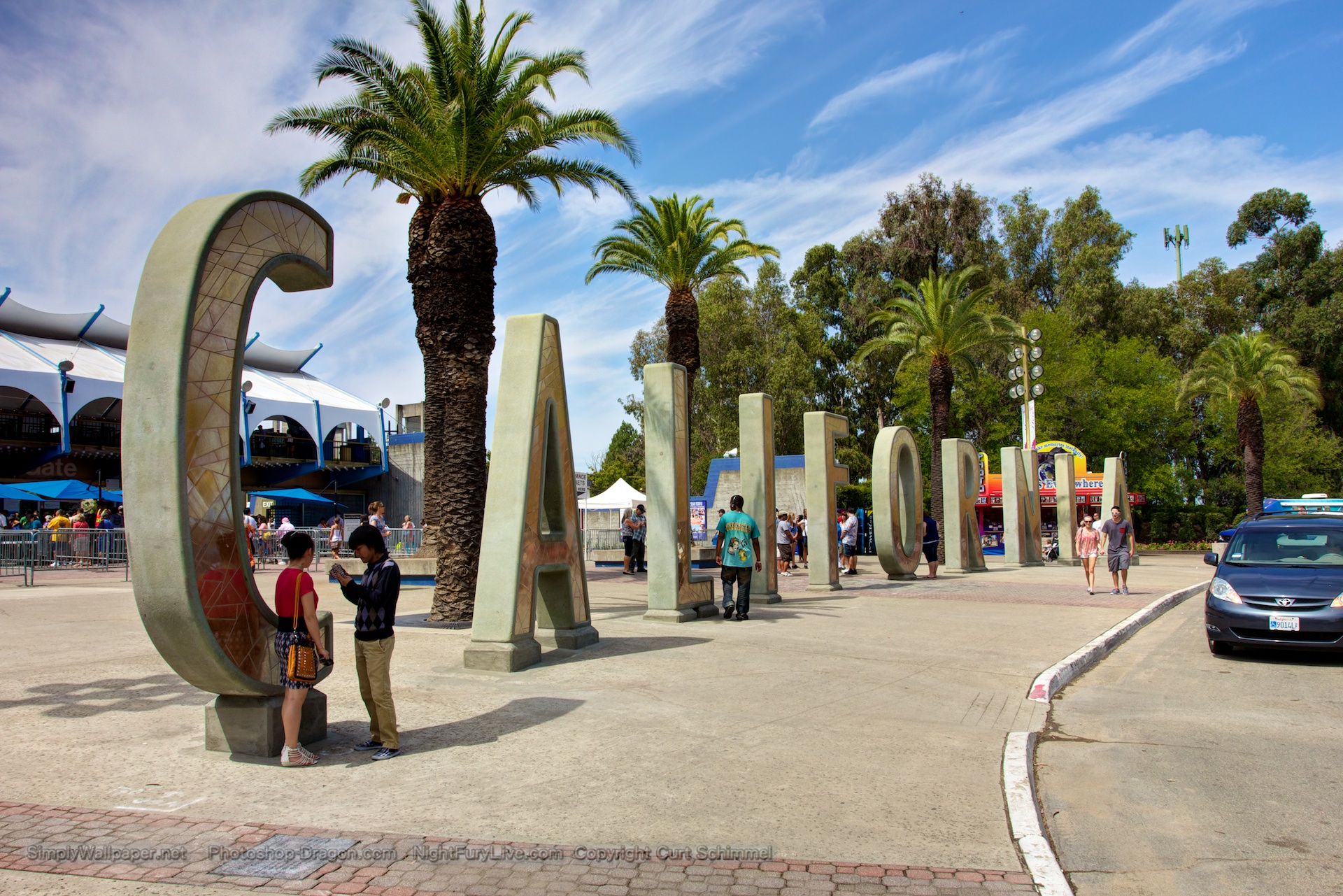 New California State Fair Entrance Plaza Desktop Wallpaper 1920x1281
