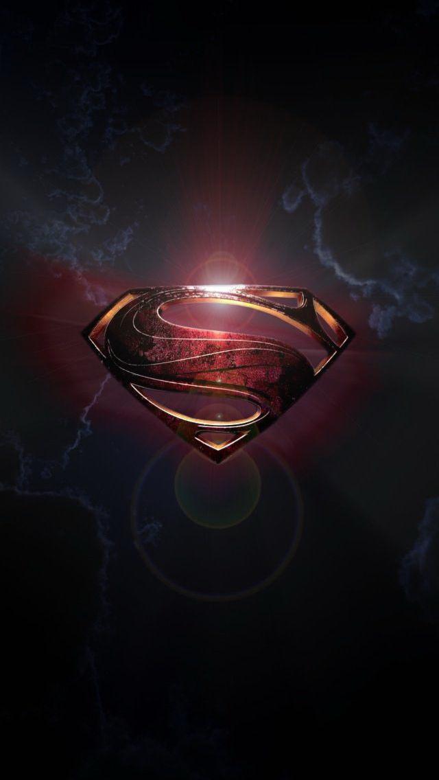 Superman Logo Fresh Wallpaper   iPhone Wallpapers 640x1136