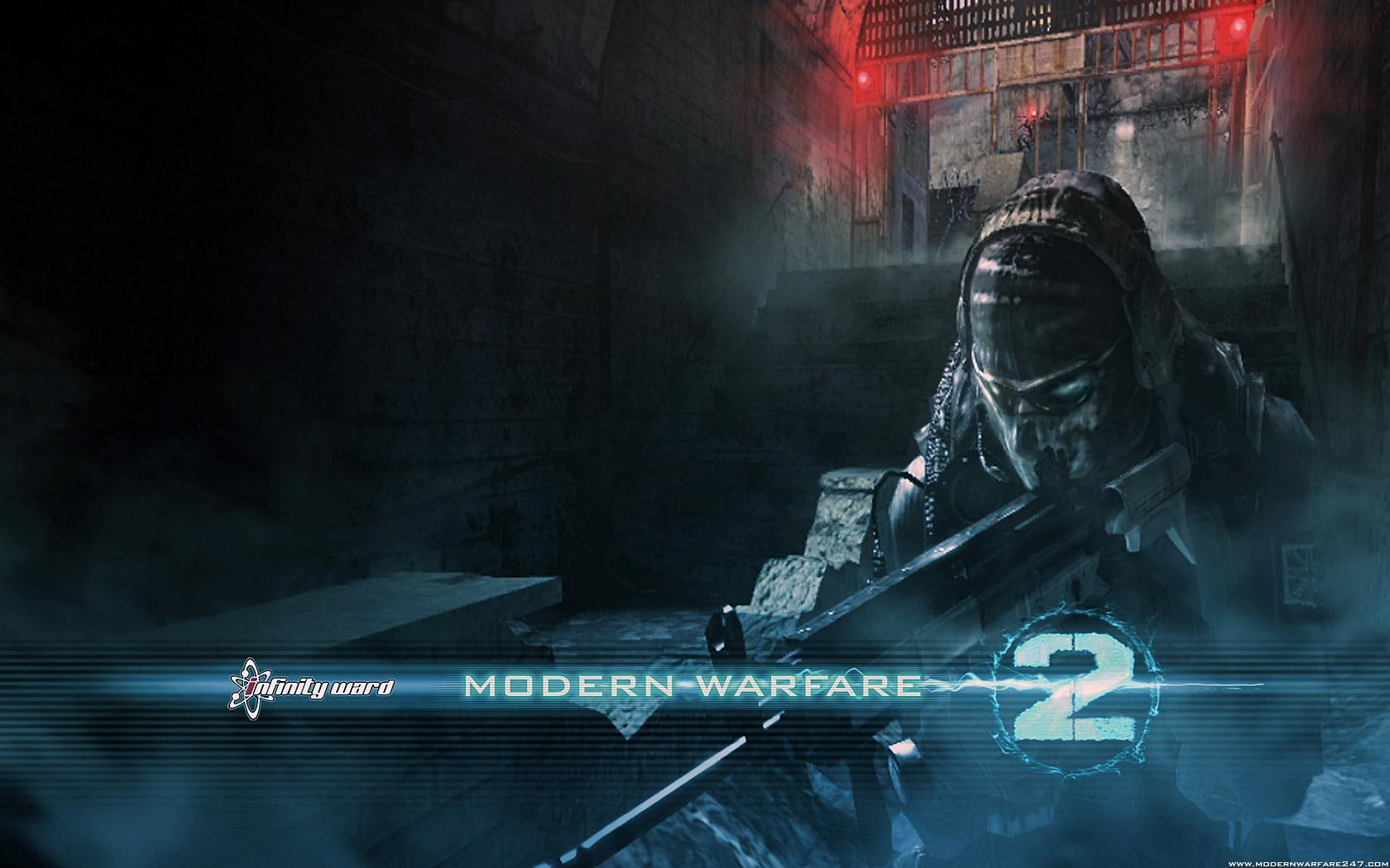 Free HQ Modern Warfare 2 Ghost Call Of Duty Series Wallpaper - Free HQ ...