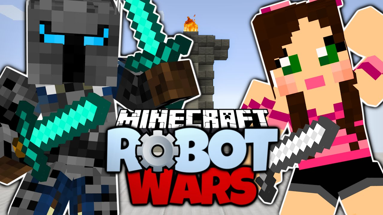 Minecraft POPULARMMOS VS GAMING WITH JEN Pat And Jen FIGHT 1280x720