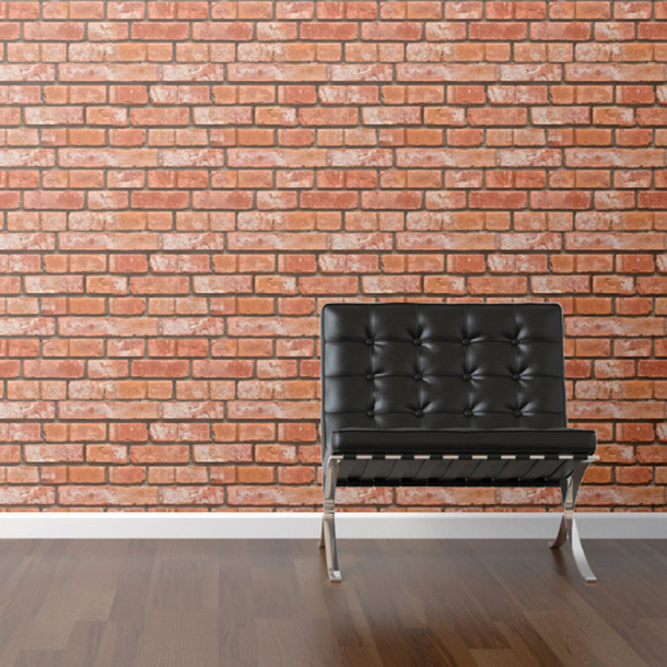 Brick Removable Wallpaper 610x610