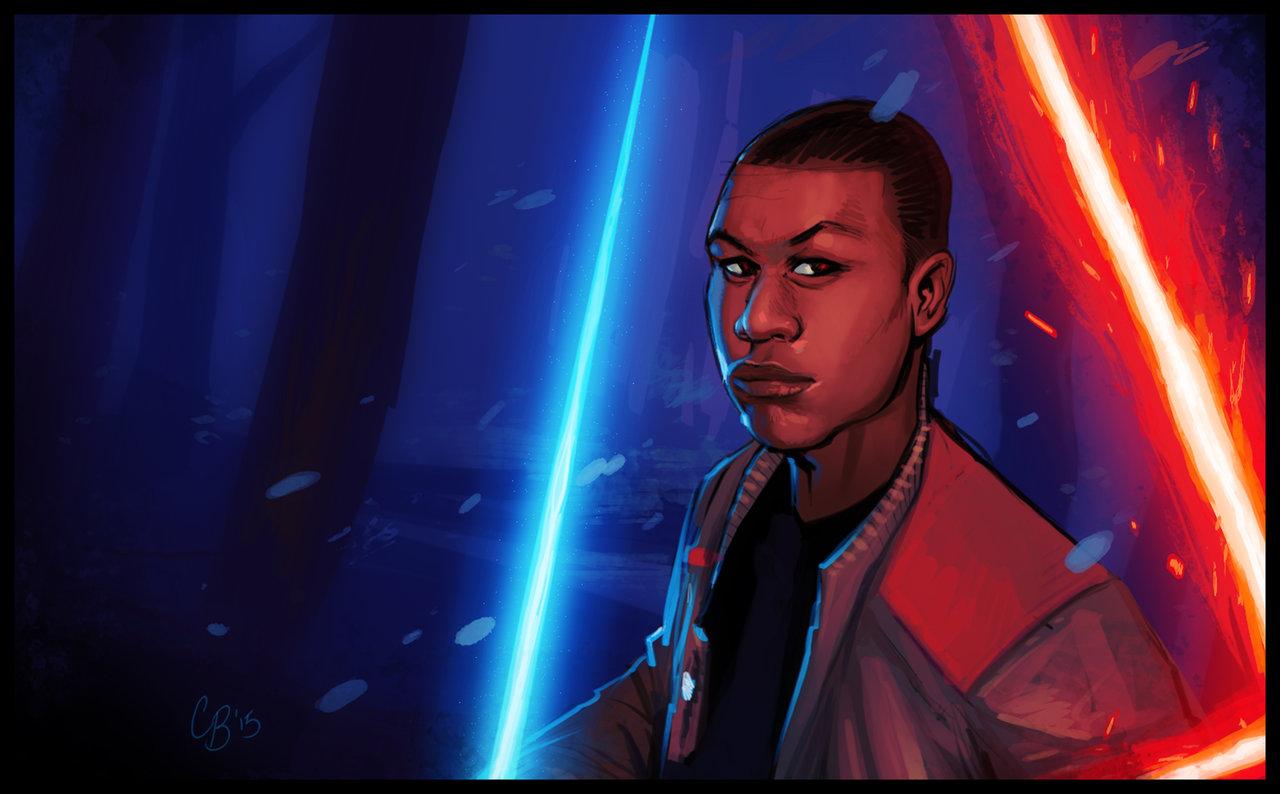 Finn The Next New Hope Star Wars TFA by VagabondArts on 1280x794