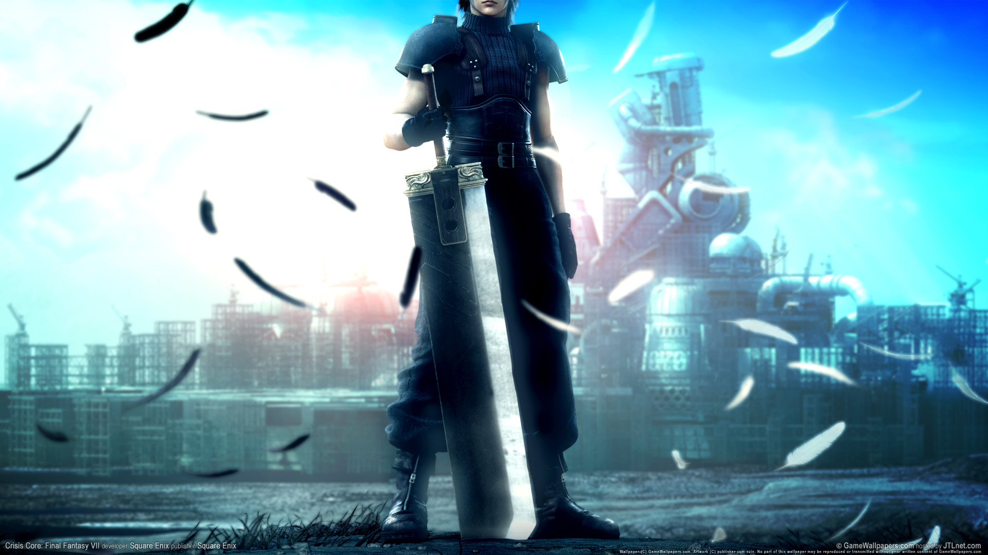 Crisis core final fantasy vii Wallpapers HD Wallpapers 1920x1080