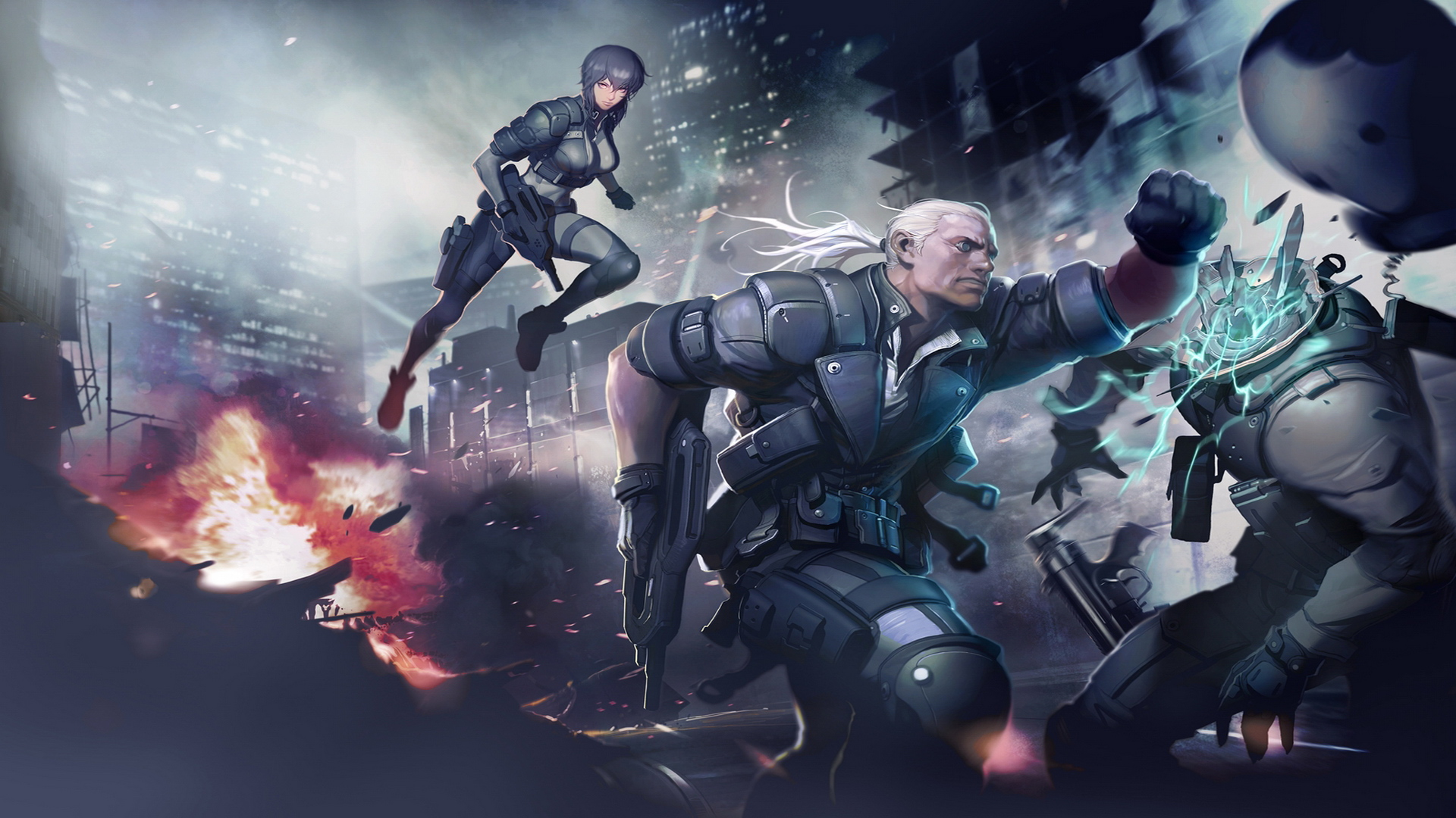 Free Download Ghost In The Shell Online Wallpapers 3 Wallpaper