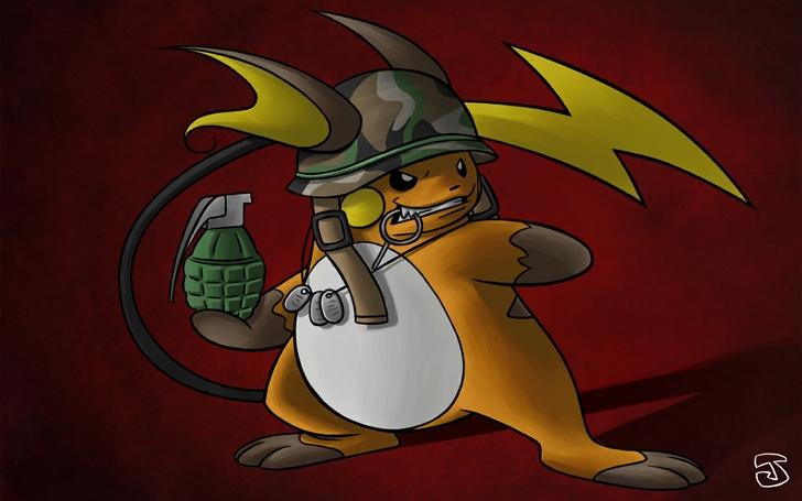 pokemon helmet raichu 1440x900 wallpaper High Quality WallpapersHigh 728x455