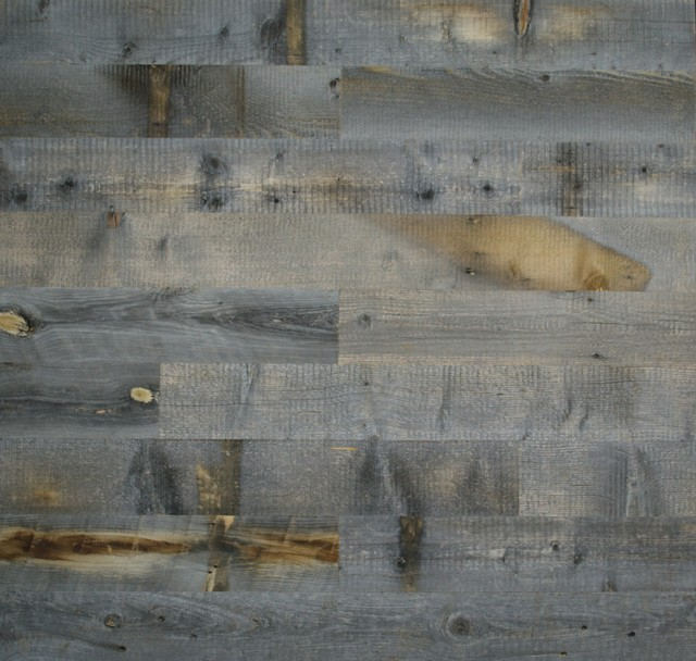 Reclaimed Weathered Wood Planks 20x20   Contemporary   Wallpaper 640x608