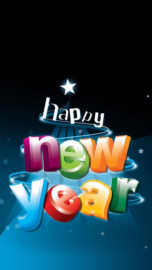 Latest New Year 2020 Wallpapers and Images for iPhone X and iPad 640x1136