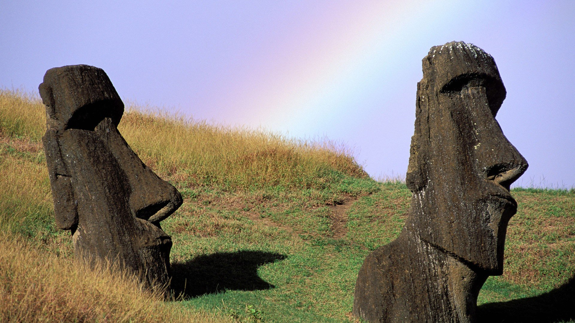 Chile Easter Island moai wallpaper 1920x1080 346158 WallpaperUP 1920x1080