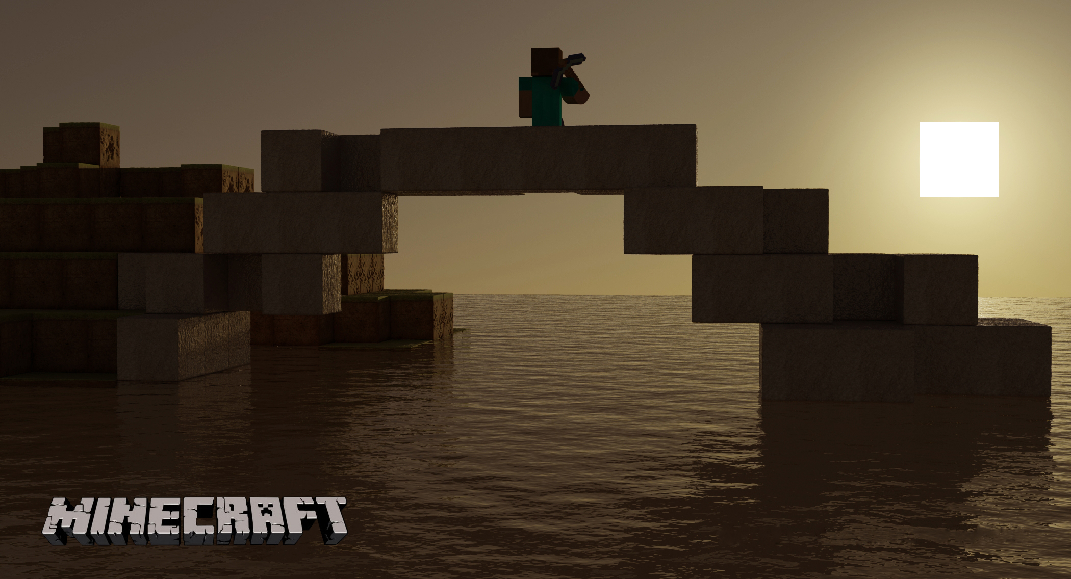 Minecraft Sunset Google Skins Minecraft Sunset Google Backgrounds 2100x1136