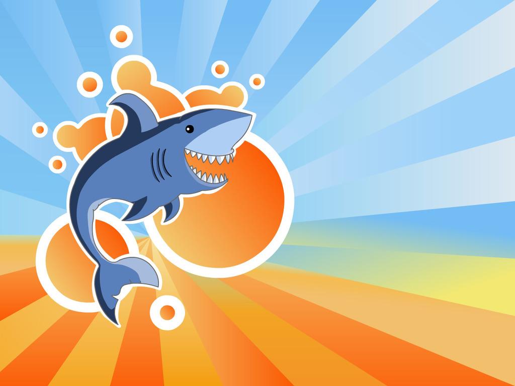 Cartoon Shark Wallpaper   Cartoon Images 1024x768