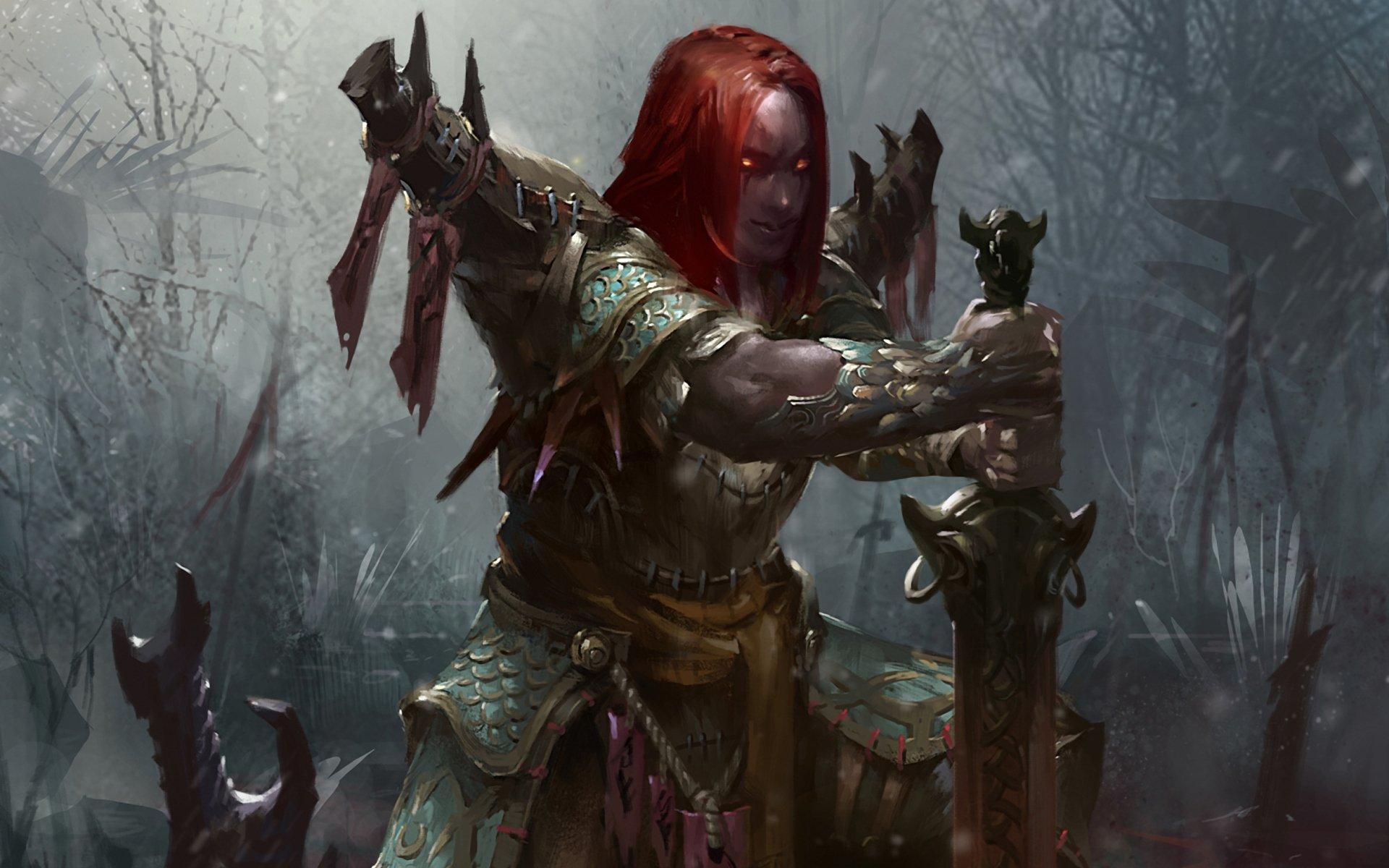 Fantasy Women Warriors Wallpaper