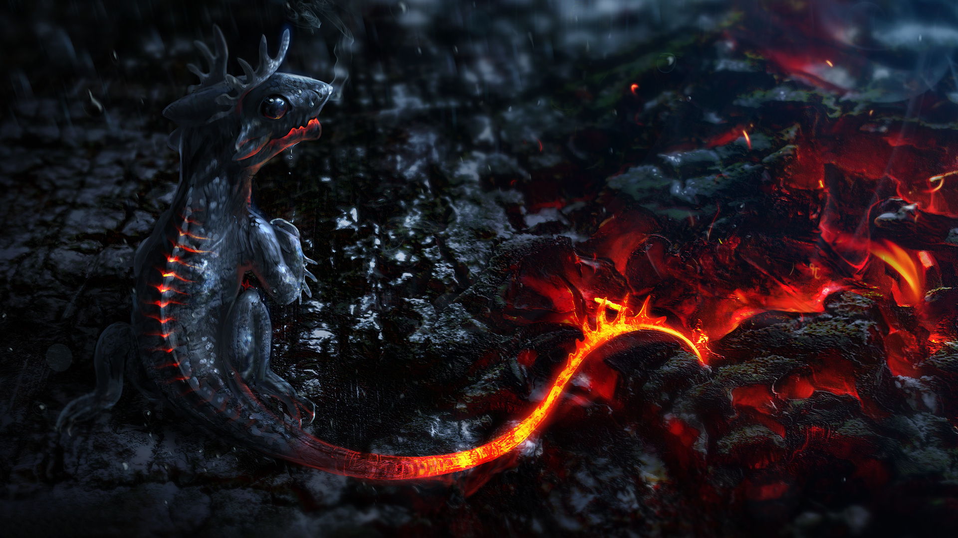 Dragon Desktop Wallpaper 1920x1080 1920x1080