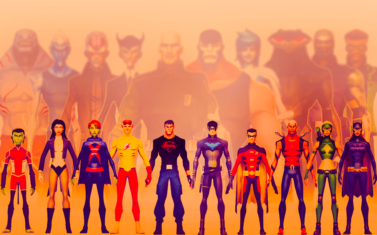 Young Justice Wallpapers 1280x800