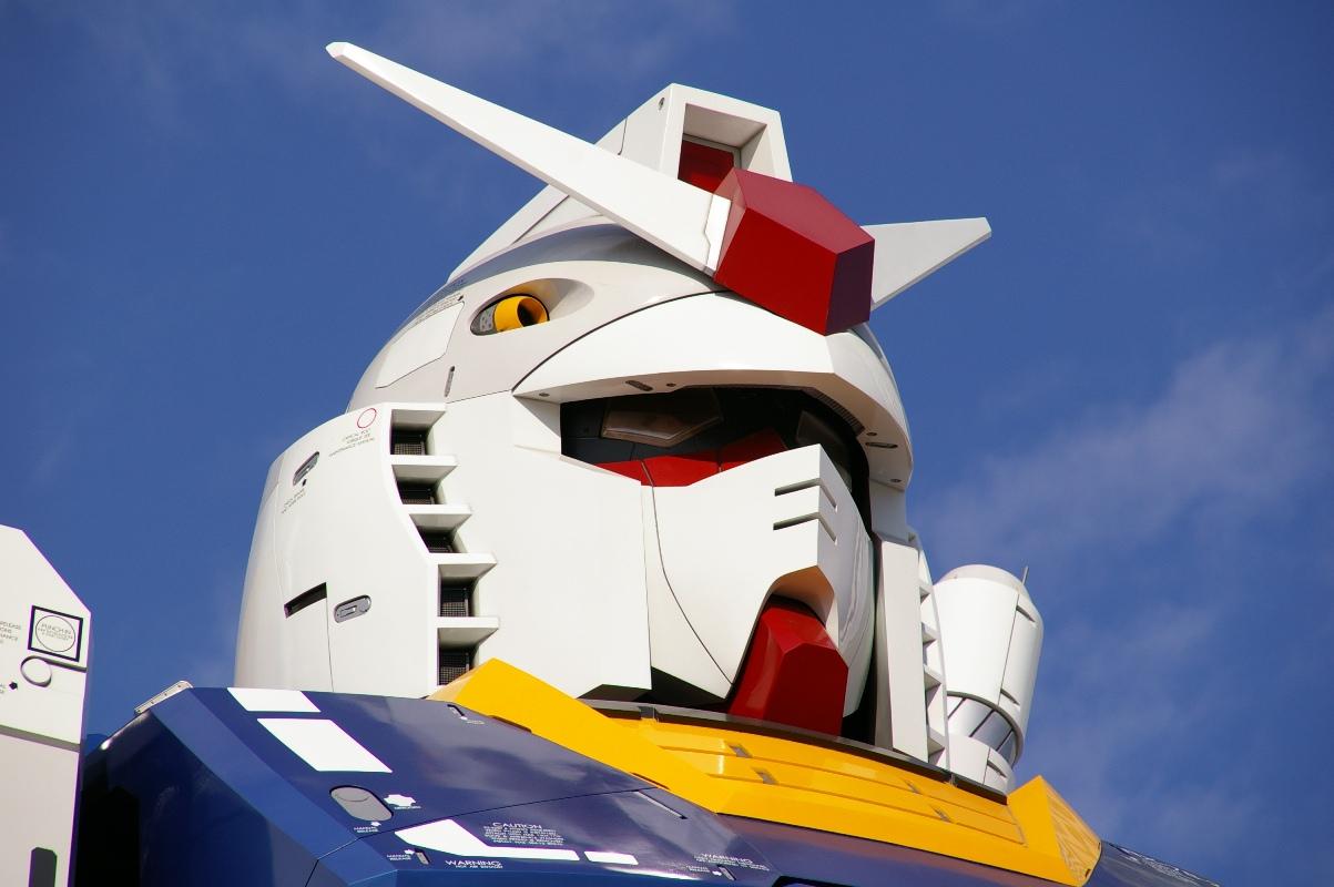 11 Life Size Gundam Statue Diver City Tokio Odaiba new 1203x800