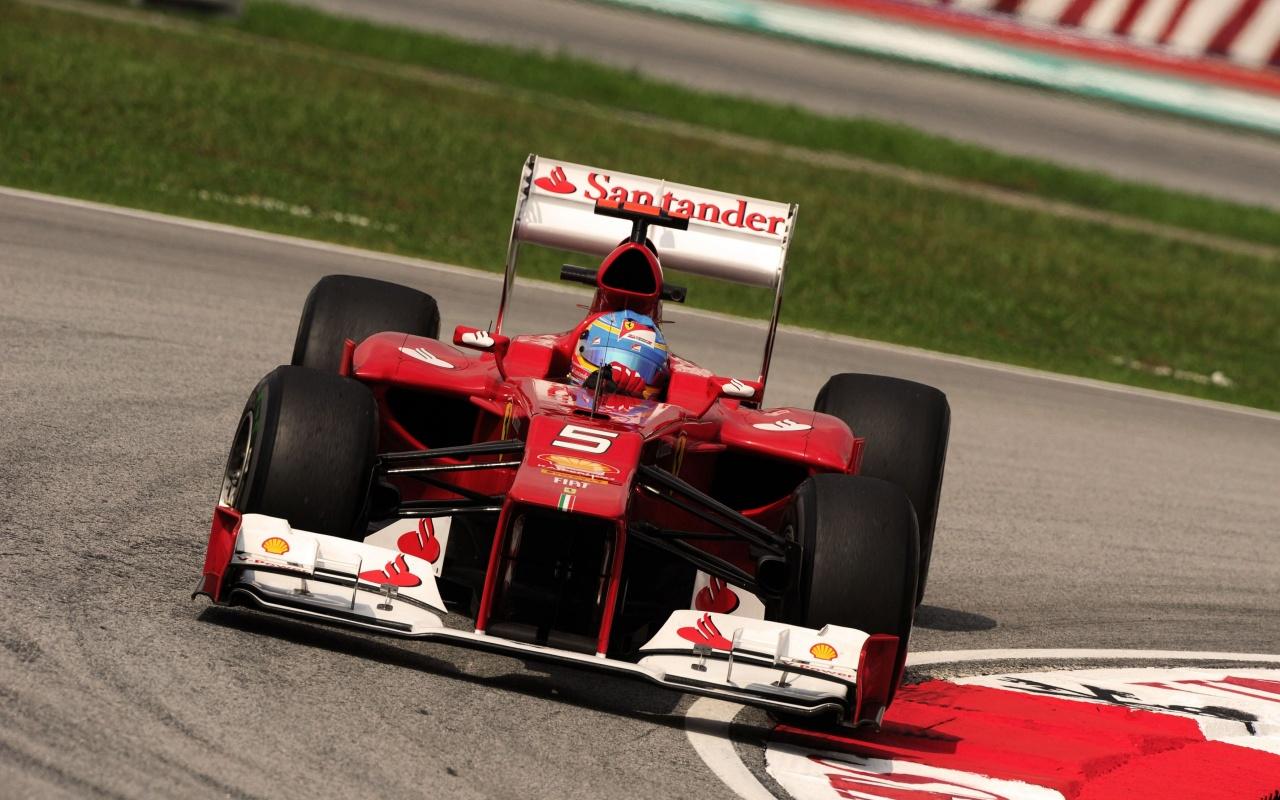 Fernando Alonso Ferrari 2012 Wallpapers   1280x800   346308 1280x800
