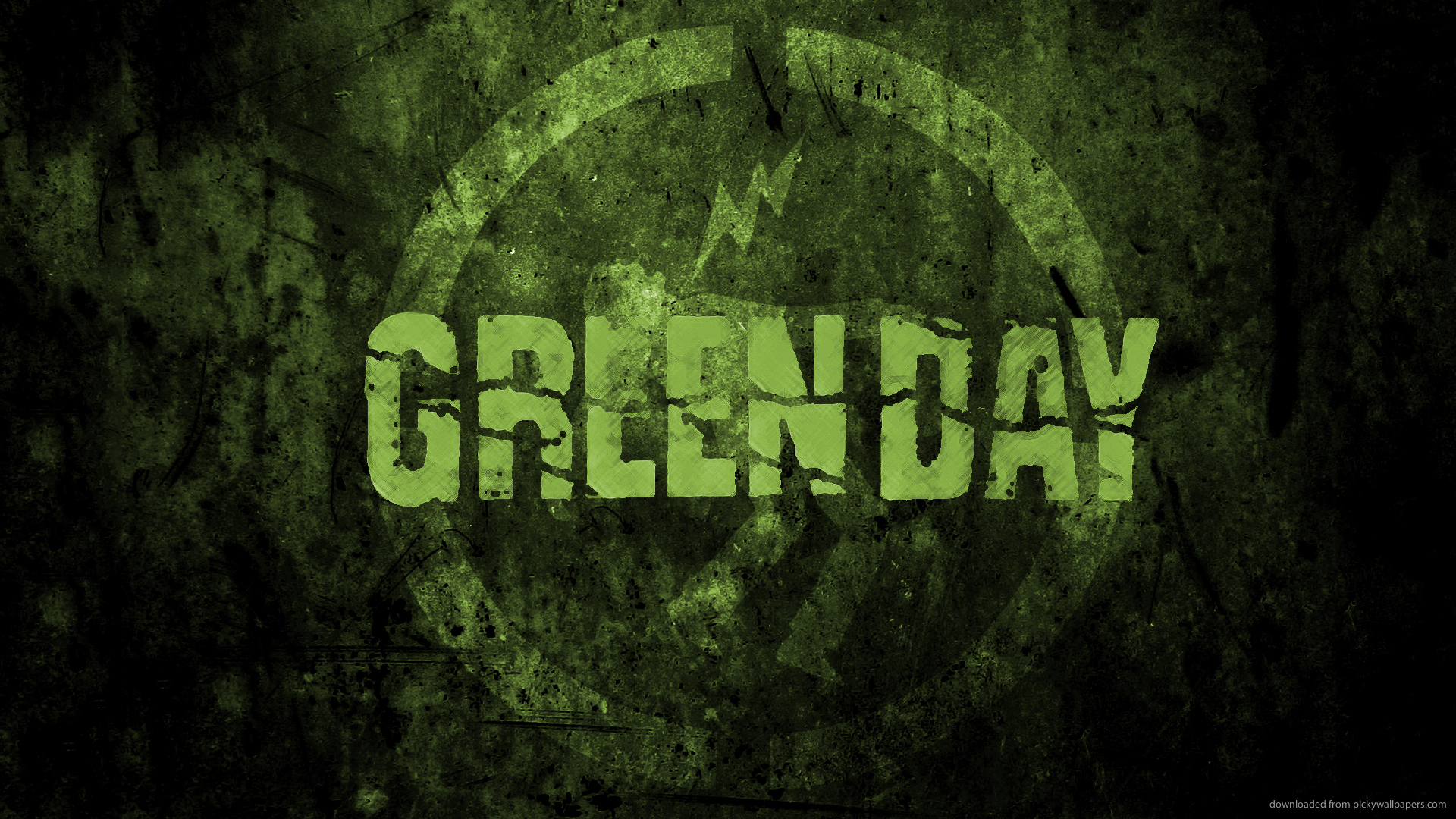 Green Day Picture For iPhone Blackberry iPad Green Day Screensaver 1920x1080