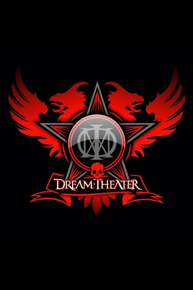 Dream Theater music background for your iPhone download 640x960