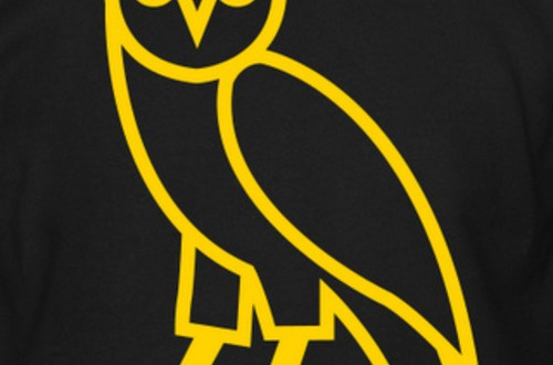 gold ovo owl wallpaper