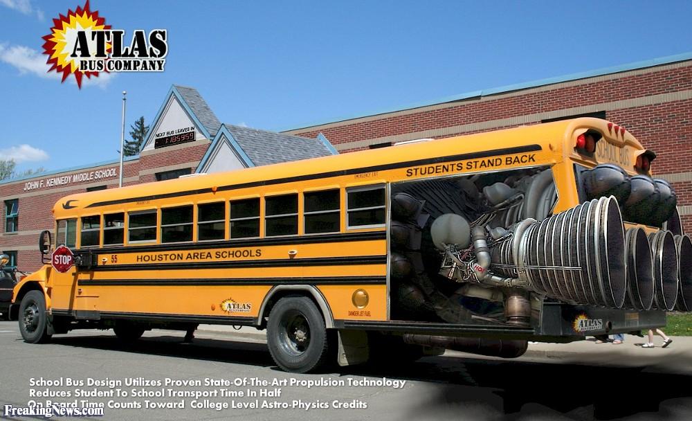 Atlas School Bus Pictures   Freaking News 1000x608