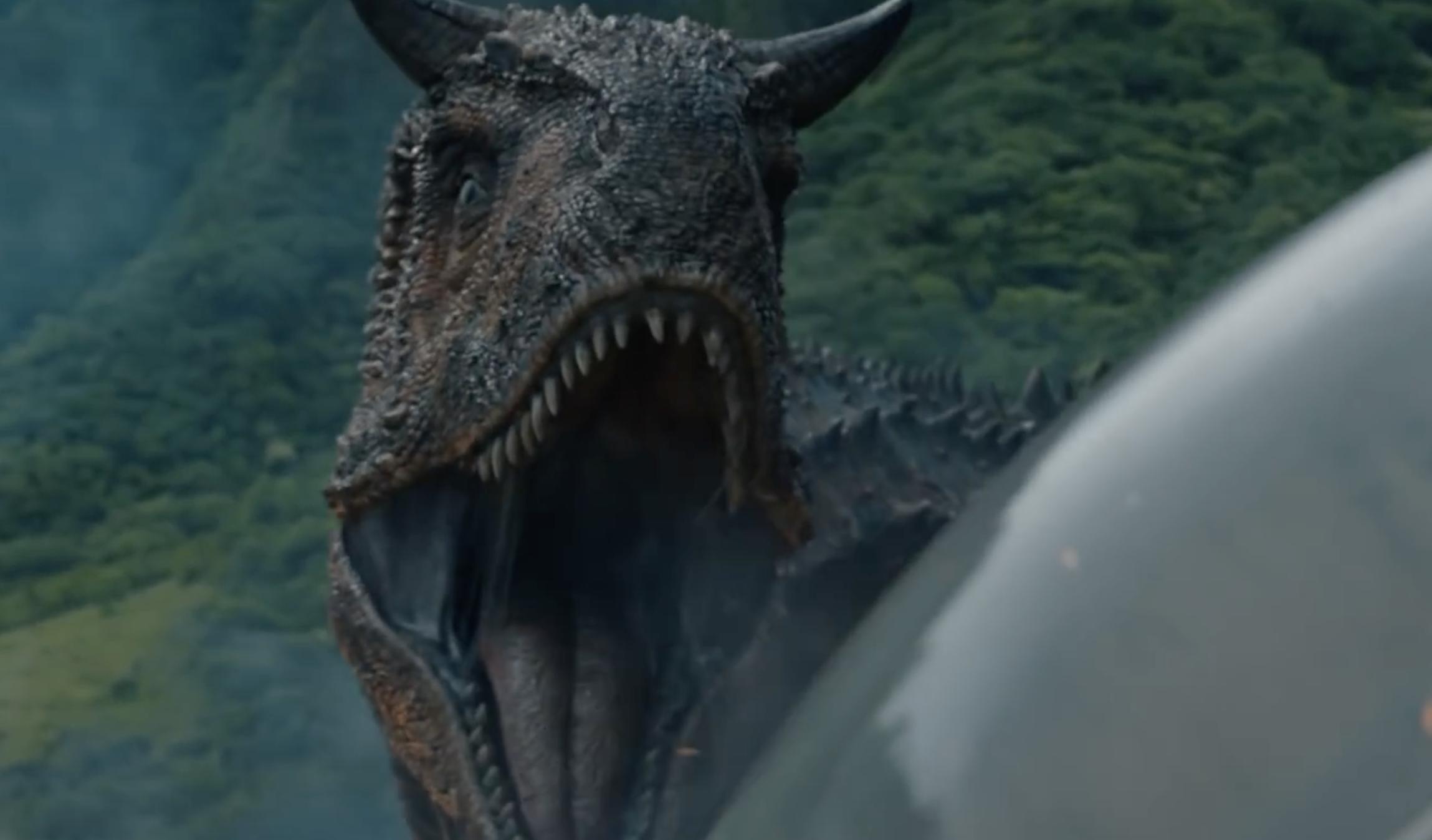 download Carnotaurus from Jurassic World Fallen Kingdom 2298x1348