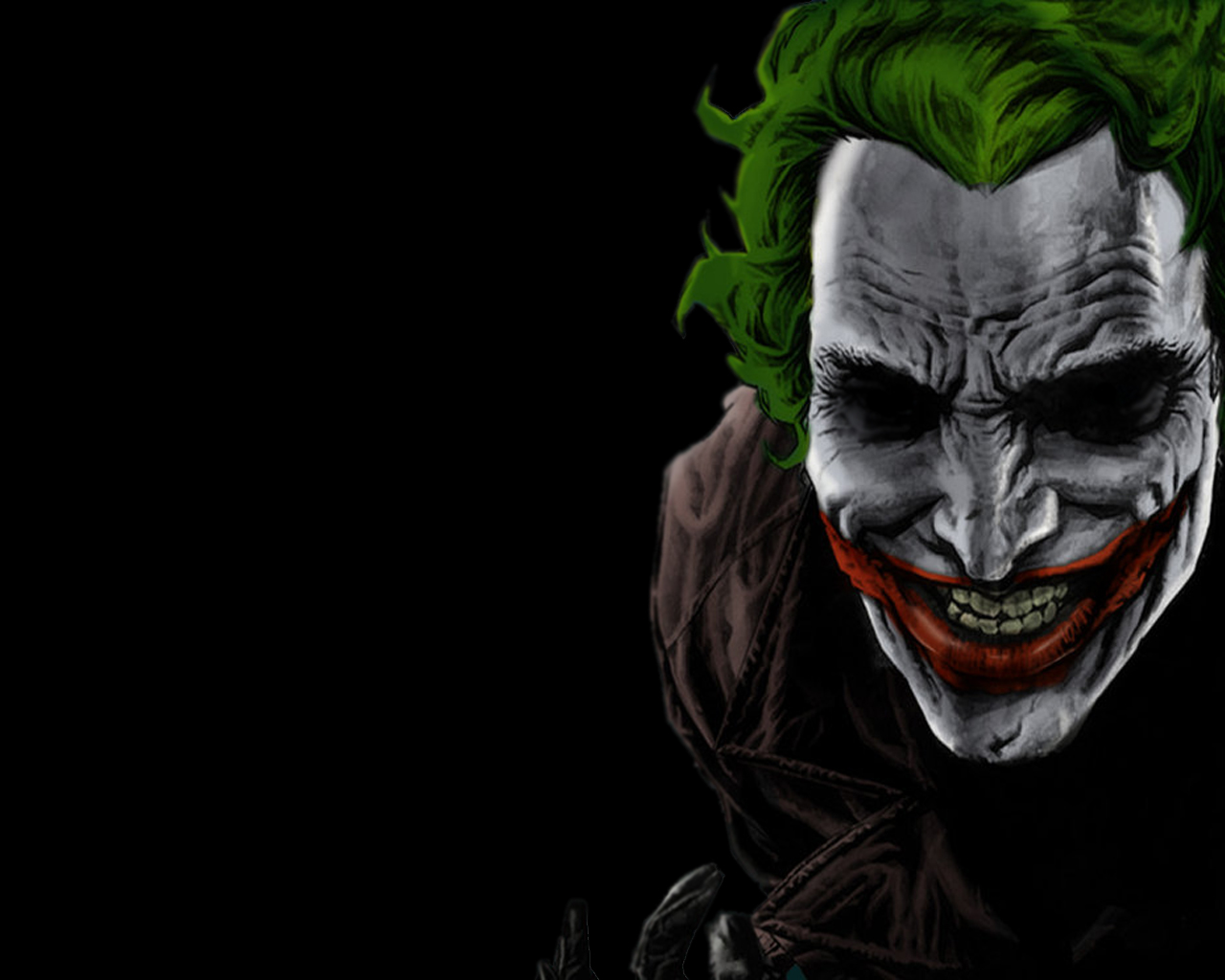joker   The Joker Wallpaper 32586037 1280x1024