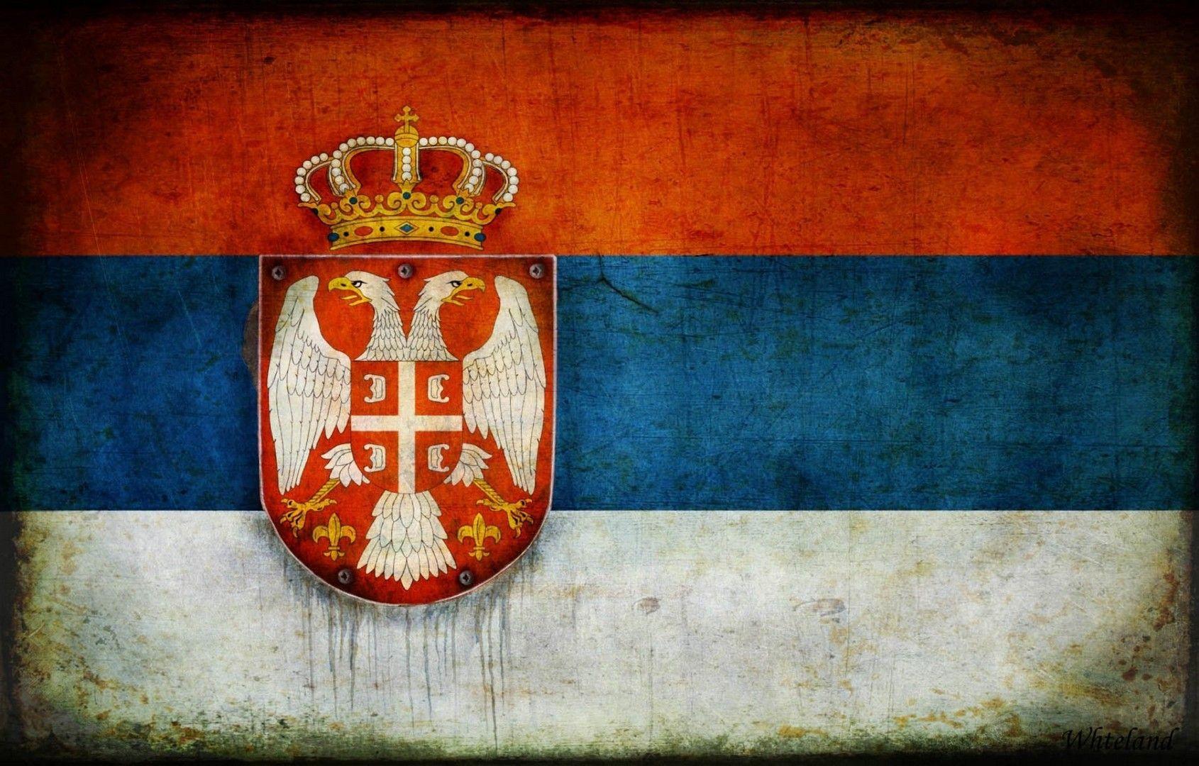 Flag of Serbia wallpaper Education Logos Wallpaper Porsche logo 1690x1080