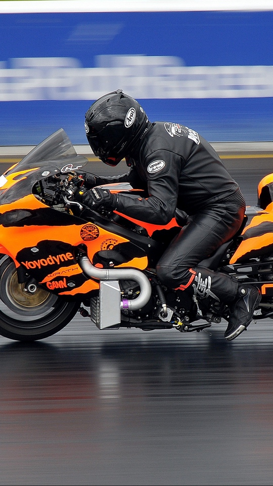 Download wallpaper 540x960 motorcycle bike racing sports 540x960