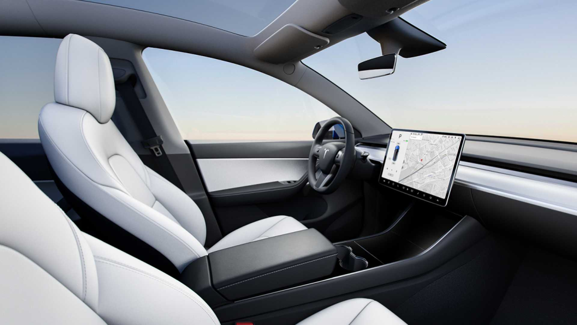 2021 Tesla Model Y Interior Wallpapers 6   NewCarCars 1920x1080