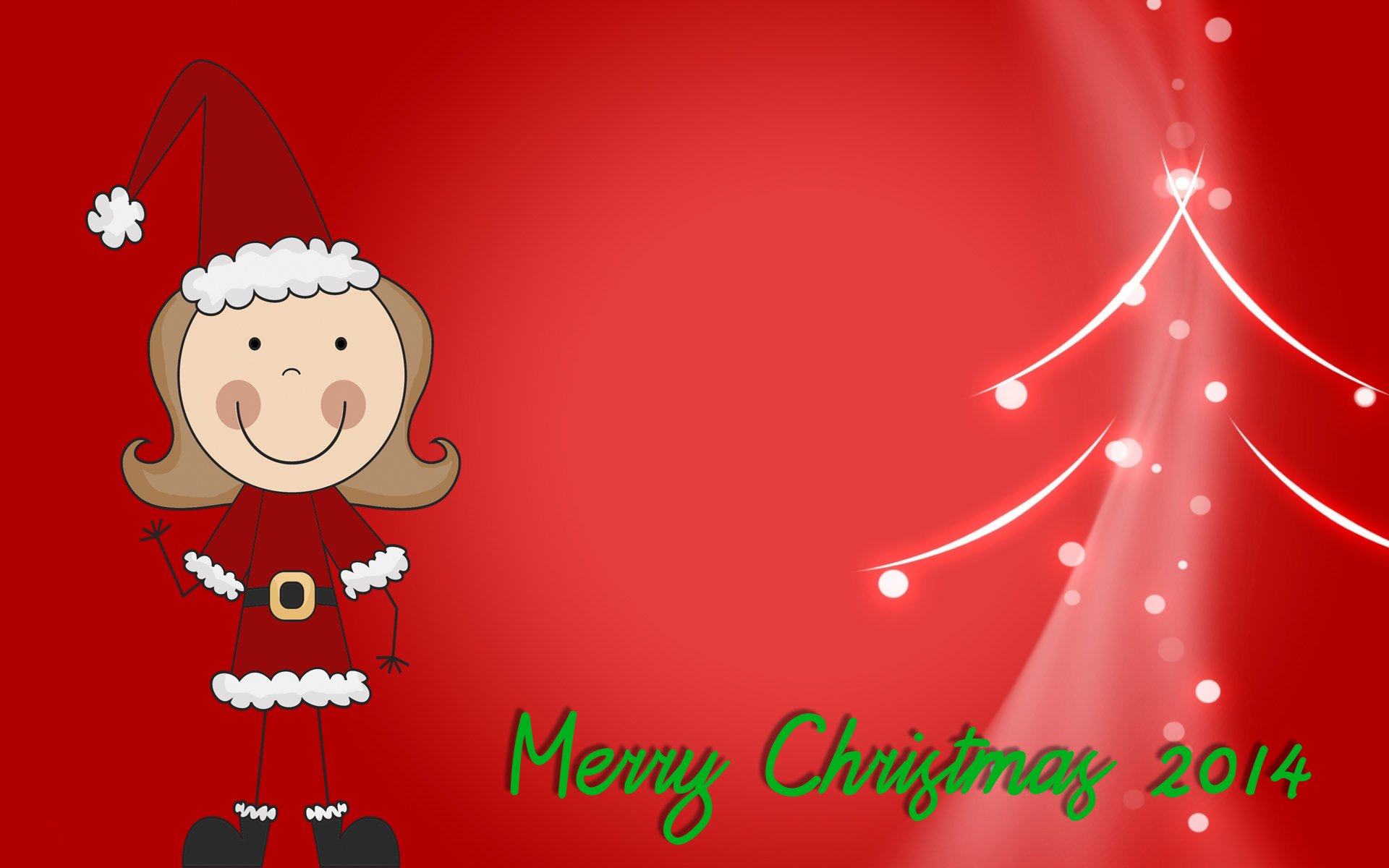 Cute cartoon christmas wallpaper wallpapersafari - Anime merry christmas wallpaper ...