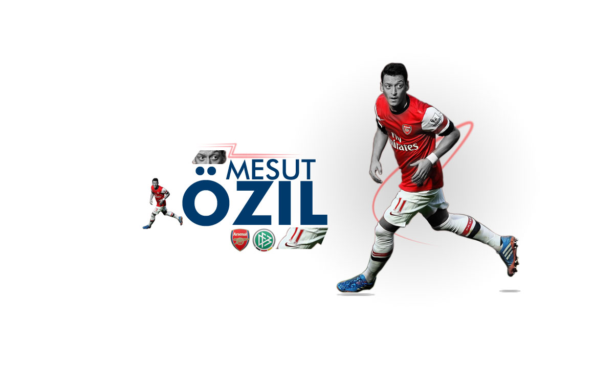 Mesut zil Wallpaper Light   You Are My Arsenal 1200x720