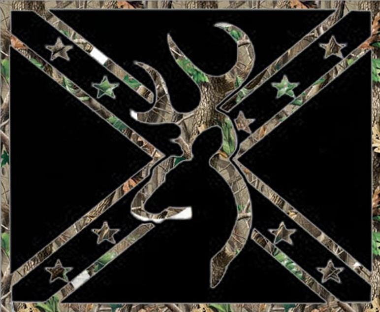 Wallpaper Browning Rebel Flag 772x633