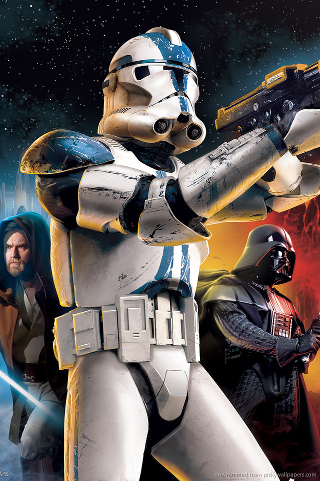 Star Wars Battlefront 2 for iPhone 4 640x960