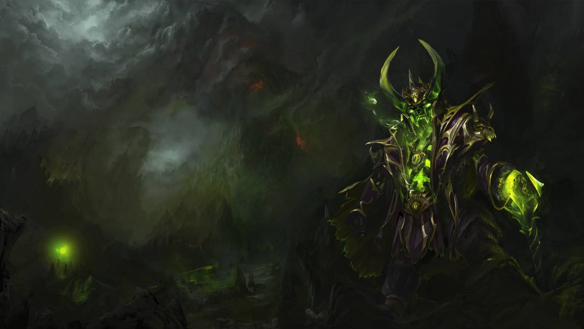 Narcissistic Leech   Pugna sets Loading screen by TrungTH on 1191x671
