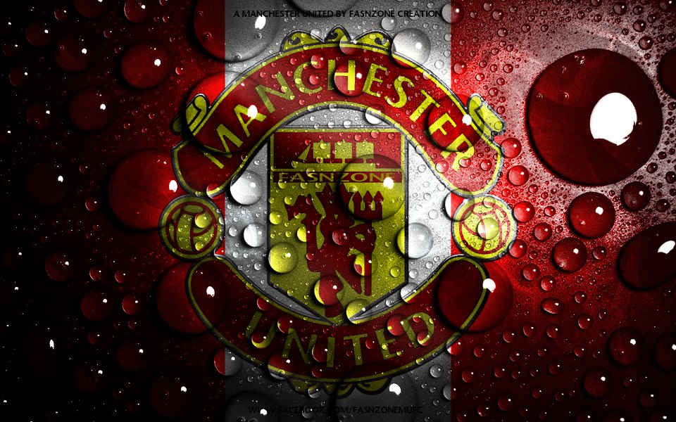 Manchester United Water High Quality In HD Wallpaper Download 960x600