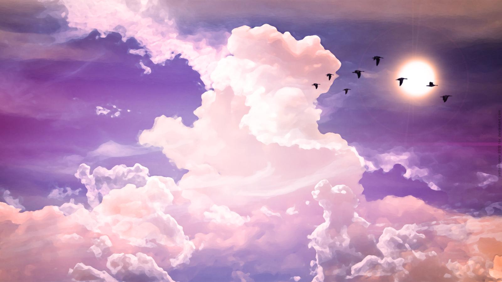 hd wallpapers for desktop sky cloud wallpapers hd 1600x900