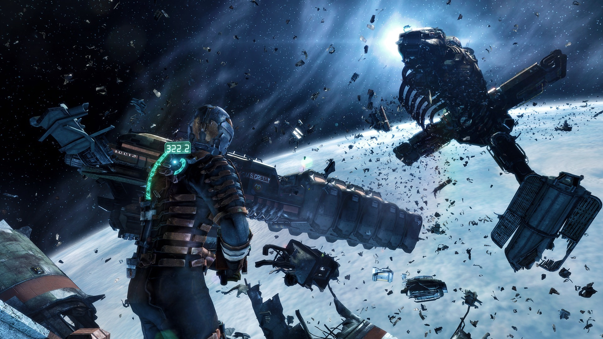 Dead Space 3 Warriors Disasters Armor sci fi wallpaper 1920x1080 1920x1080