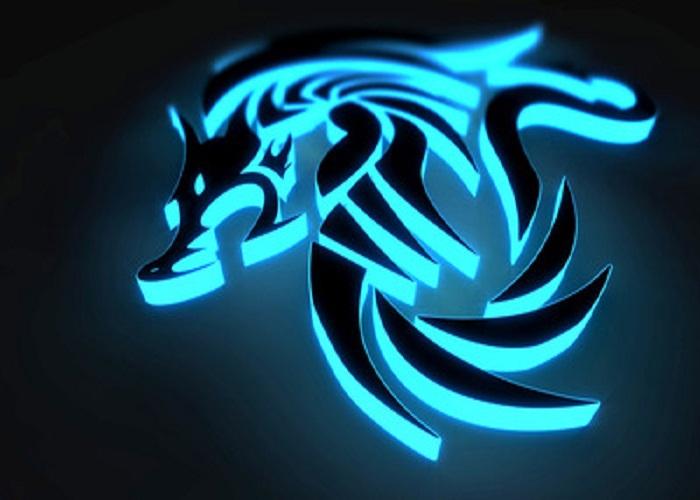 for Men Gorgeous Black Blue Tribal Dragon Tattoo Ideas For Men 700x500