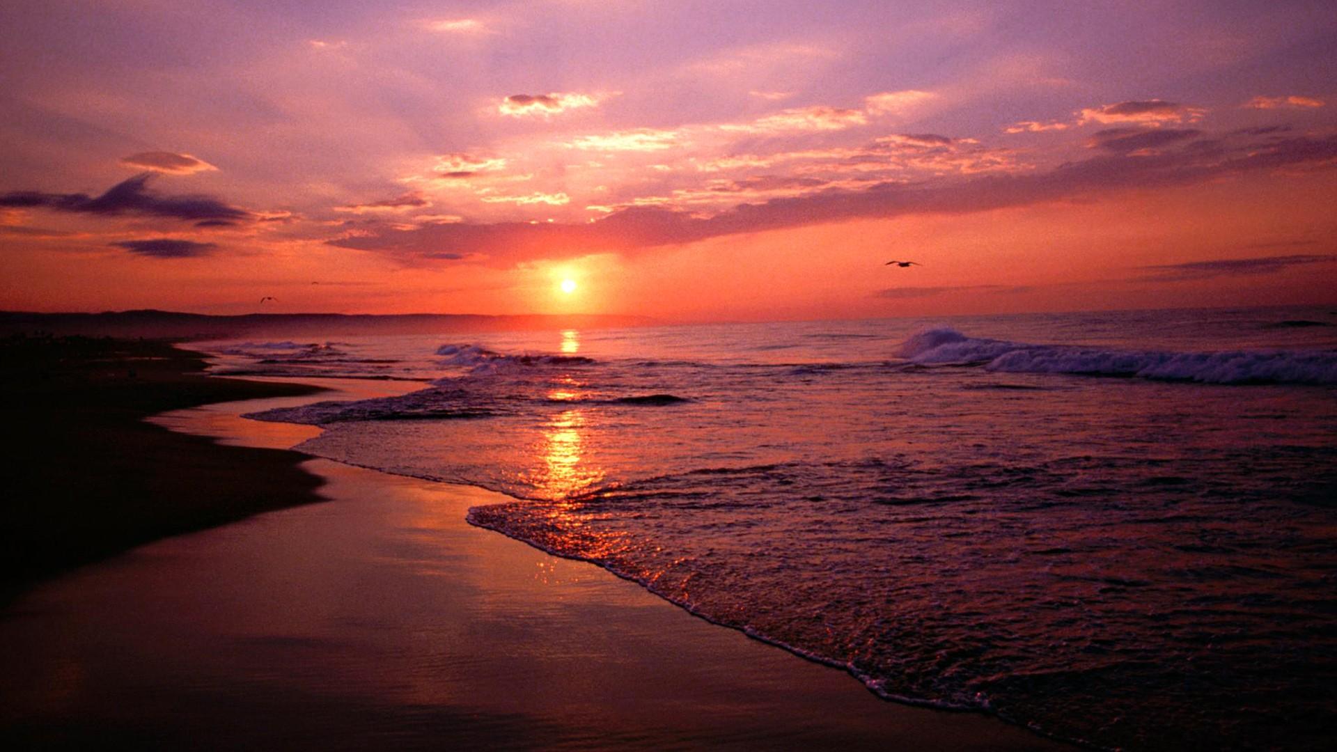 Newport Beach Sunrise wallpaper - 689215