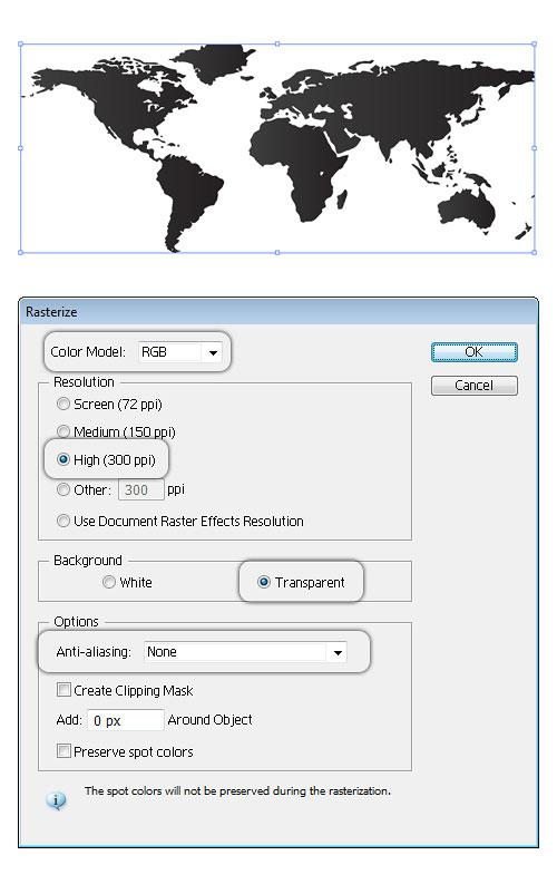 Digital World Map Background   Illustrator Tutorials Tips 500x802