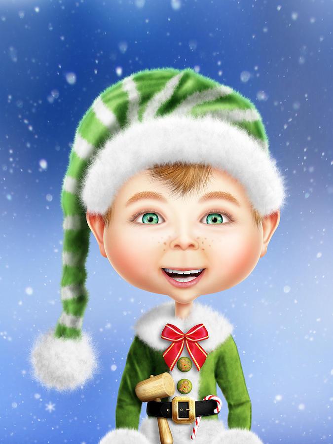 christmas elf wallpaper - photo #10